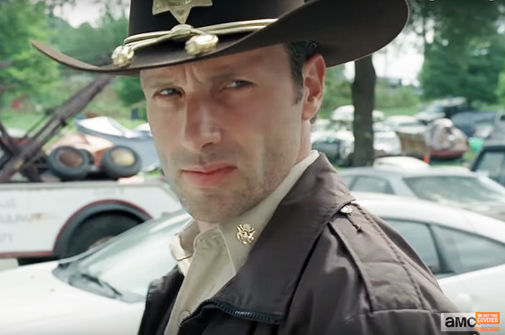 Rick Grimes em The Walking Dead