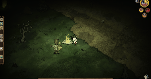 """Don't starve!!"" the game"