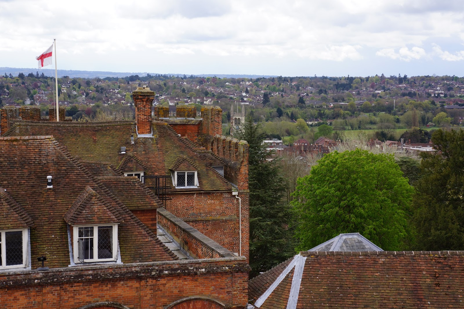 farnham castle surrey views