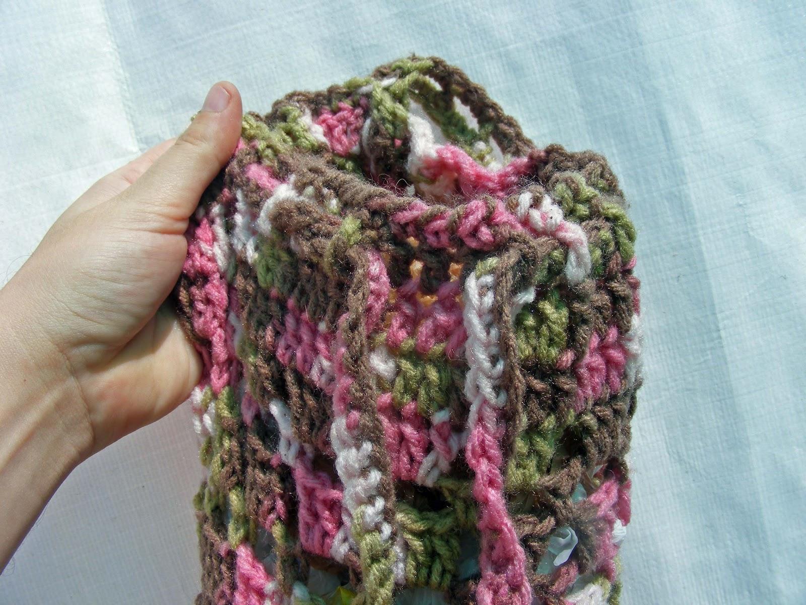 Free Crochet Bag Dispenser Pattern Dancox For