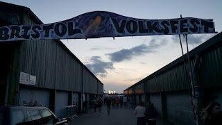 Entrance to Bristol Volksfest