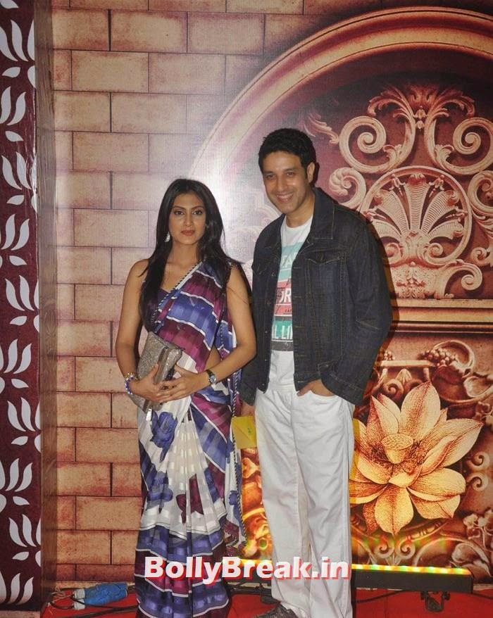 Rina Agrawal, Khalid Siddiqui, Zee Rishtey Awards 2014 Photo Gallery