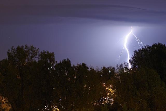 burza piorun błyskawica