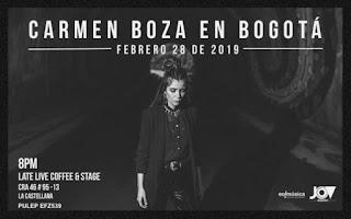 Concierto de CARMEN BOZA en Bogotá 2019