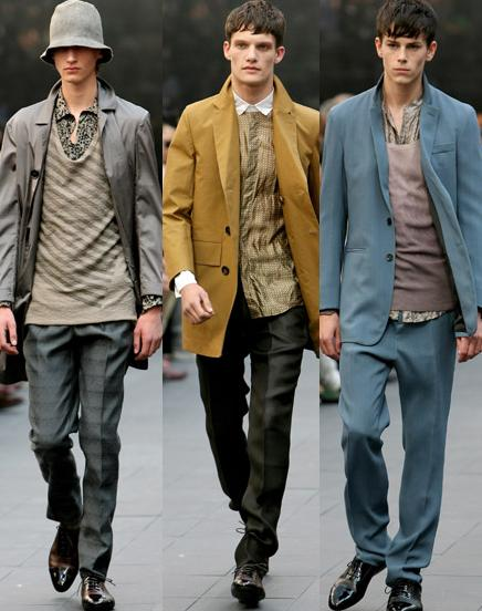 2e2fd752a04c World Fashion Center: Burberry Prorsum Men's 2009 Fall/Winter Collection