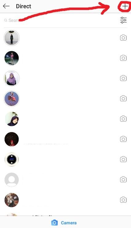Tambah Chat Instagram Baru