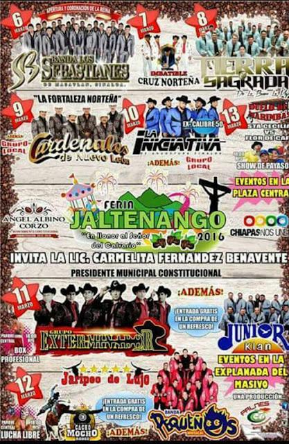 feria jaltenango 2016