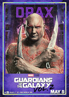 Guardians of the Galaxy Vol. 2 Movie Poster 10 Dave Bautista