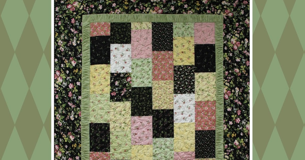 Virtually Vintage Quilts Gathered Border Quilt Pattern