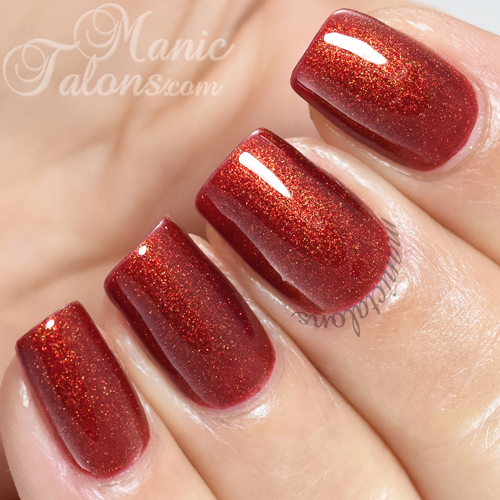 Madam Glam Gel Polish Rich Cornell Swatch