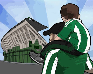 from father to son ultras vector