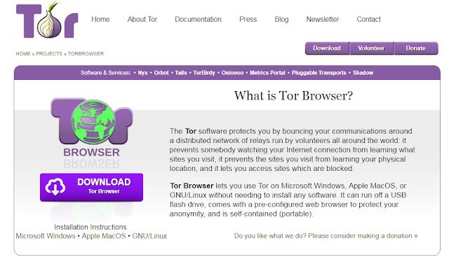 ما هو متصفح تور Tor