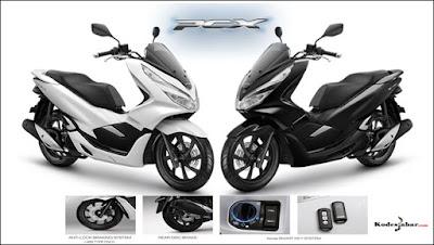 All New Honda PCX 150, Kini Tampil Lebih Elegan