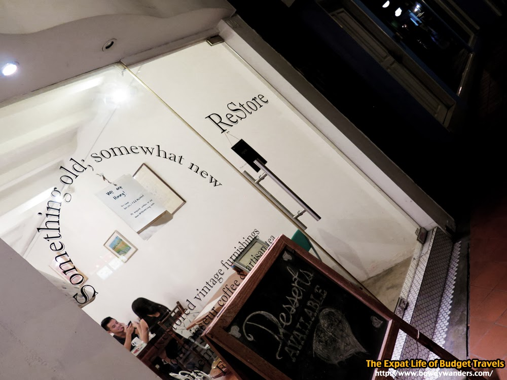 bowdywanders.com Singapore Travel Blog Philippines Photo :: Singapore :: ReStore Living Cafe, Tanjong Pagar