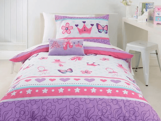 contoh tempat tidur anak perempuan