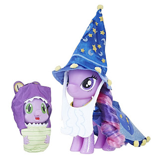 My Little Pony Twilight Sparkle as Star Swirl the Bearded and Spike Brushable
