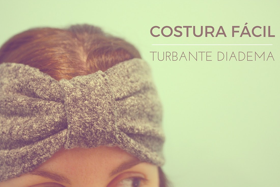 Costura facil turbantes diadema de tela
