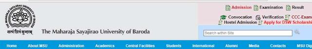 The Maharaja Sayajirao University (MSU) Baroda Recruitment for Various Posts 2018