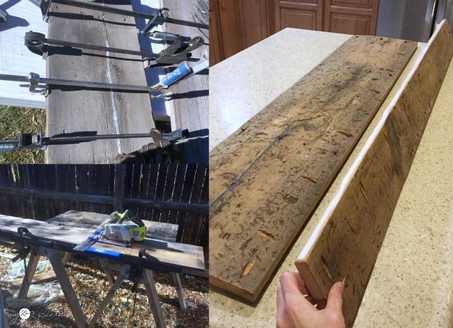 making shelf - Reclaimed Wood Media Console