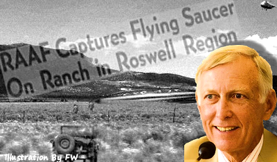 Senate Staffer, Dick D'Amato's Statement On UFO Crashes in New Mexico