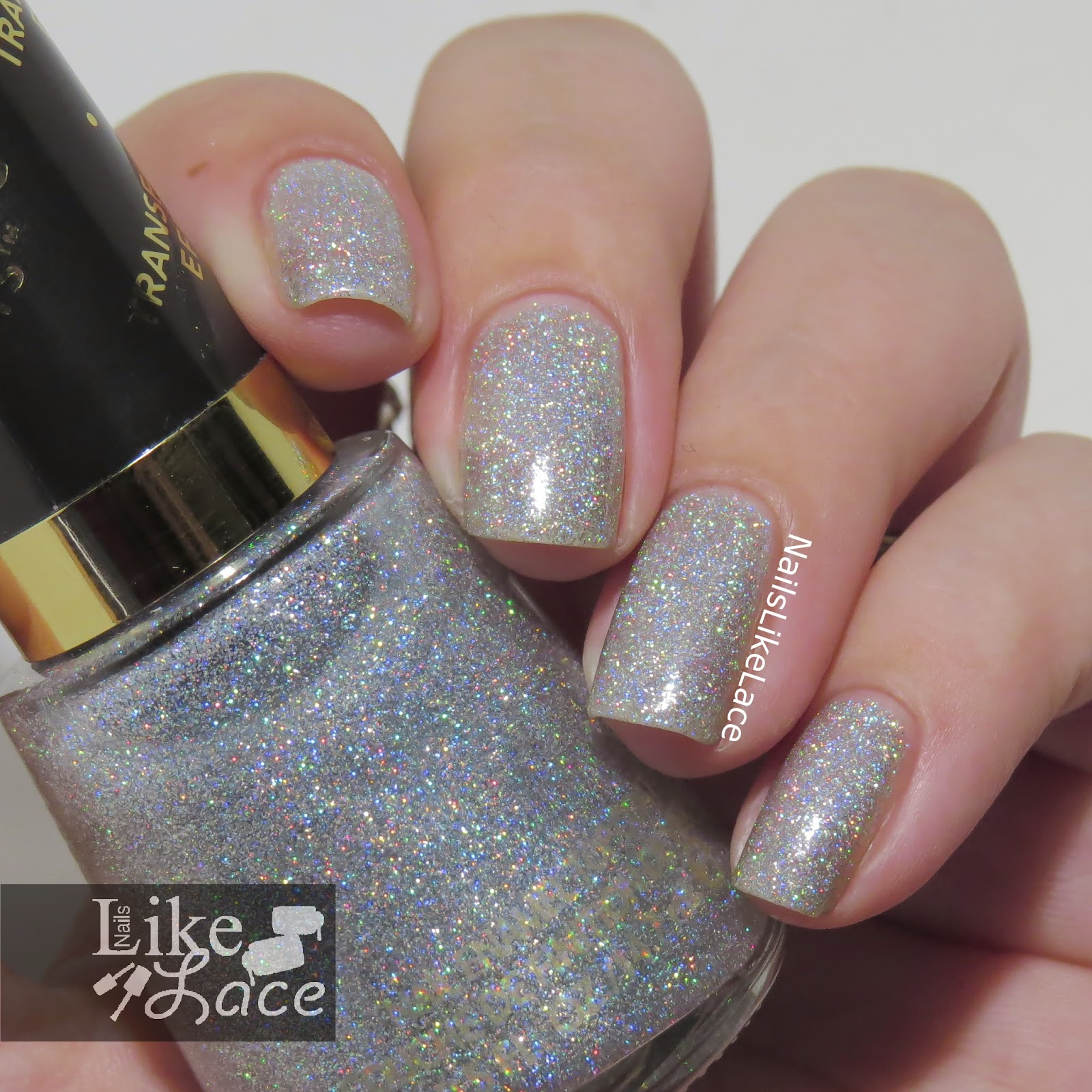 Nailslikelace Revlon Holographic Pearls