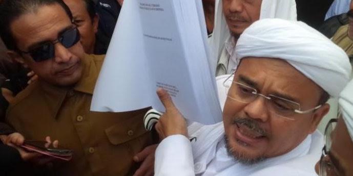 Polisi Berencana Akan Jemput Paksa Habib Rizieq