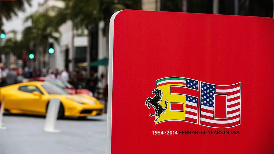 フェラーリ米国進出60周年を祝うイベントが盛大に開催!