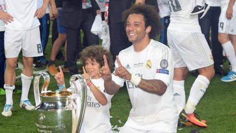 Marcelo cùng Real gặt hái được nhiều thành công