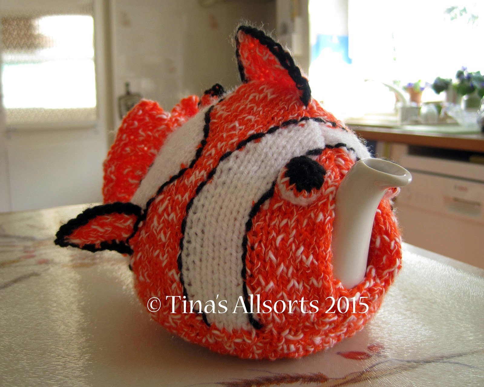 Tina's Allsorts Nemo Tea Cosie