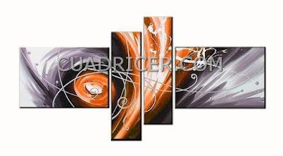 http://www.cuadricer.com/cuadros-pintados-a-mano-por-temas/cuadros-abstractos/cuadros-huracan-gris-naranja-moderno-1739.html