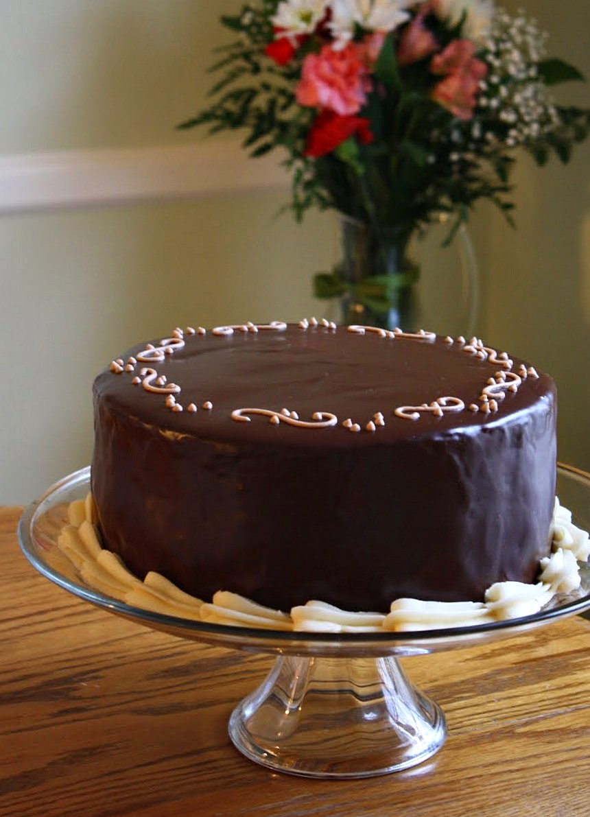 Enrobing Cake Steps