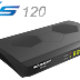 Atualização Globalsat GS 120  V2.36 - 22/03/2019