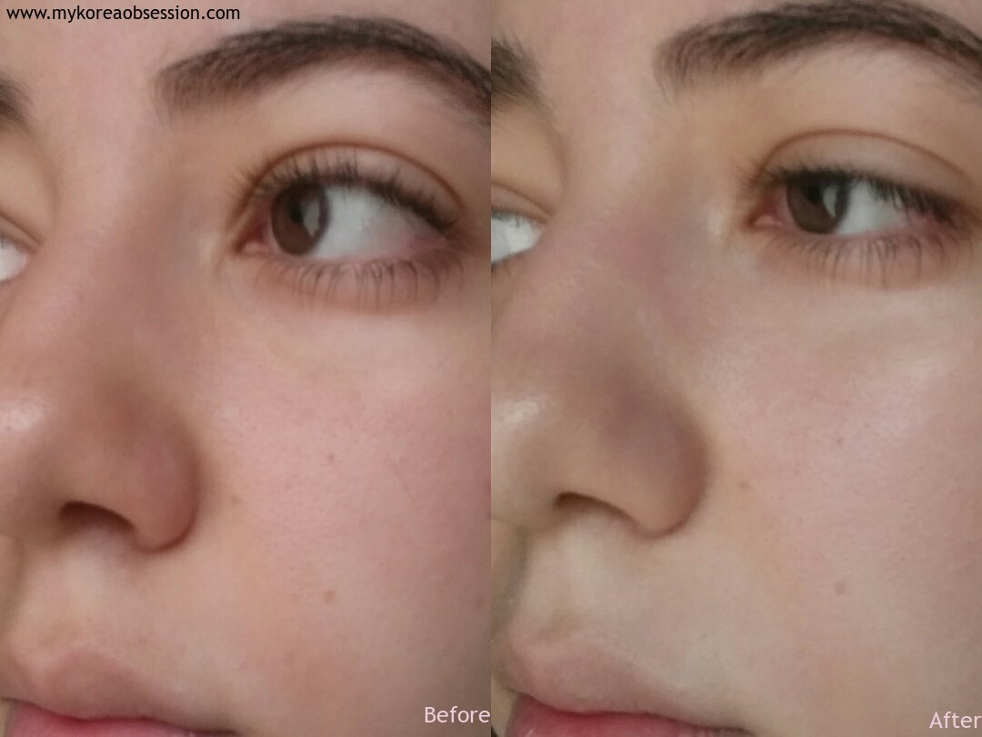 Etude house beauty shot face blur review before and after swatch