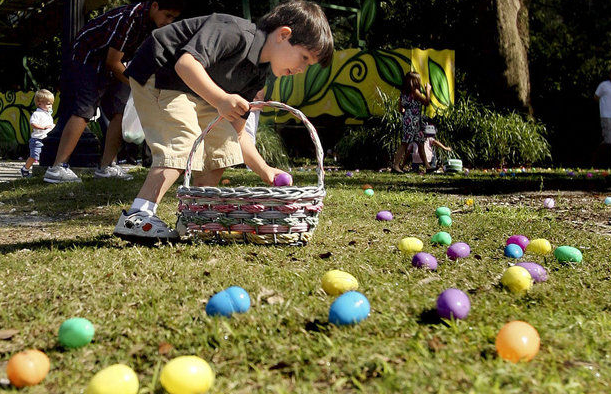 Easter Egg Hunt in New Orleans