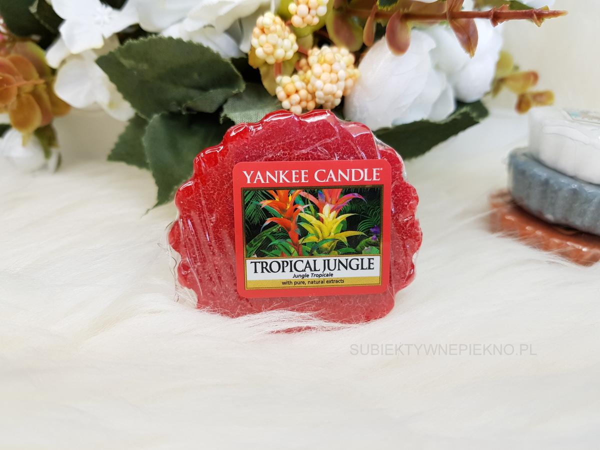 TROPICAL JUNGLE YANKEE CANDLE | Letnia kolekcja Q2 2018 Just Go | Blog, opinie, recenzja