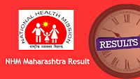 NHM Maharashtra Result
