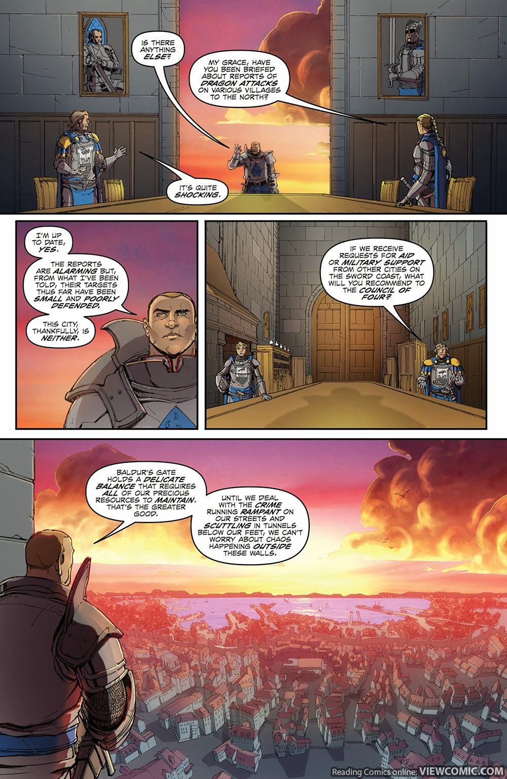 Dungeons & Dragons Legends of Baldur's Gate 002 (2014) | Viewcomic