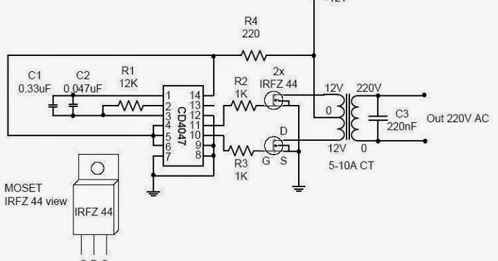 A simple Inverter ~ Electrical Engineering Pics