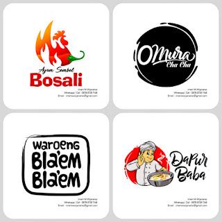 desain logo rumah makan