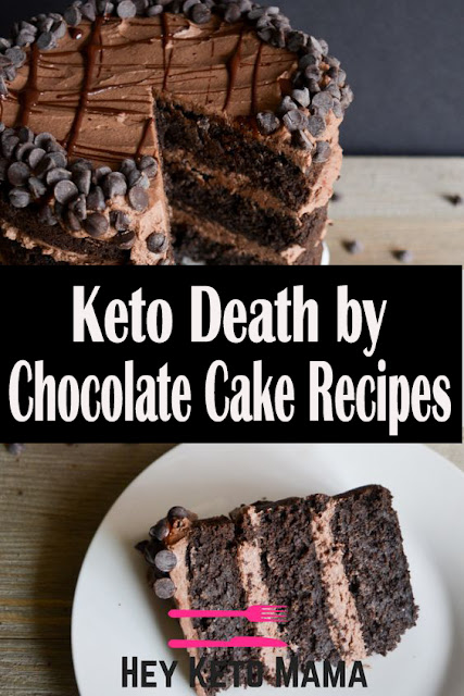 Keto Death by Chocolate Cake Recipes