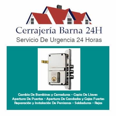 cerrajería Barna 24H - Barcelona
