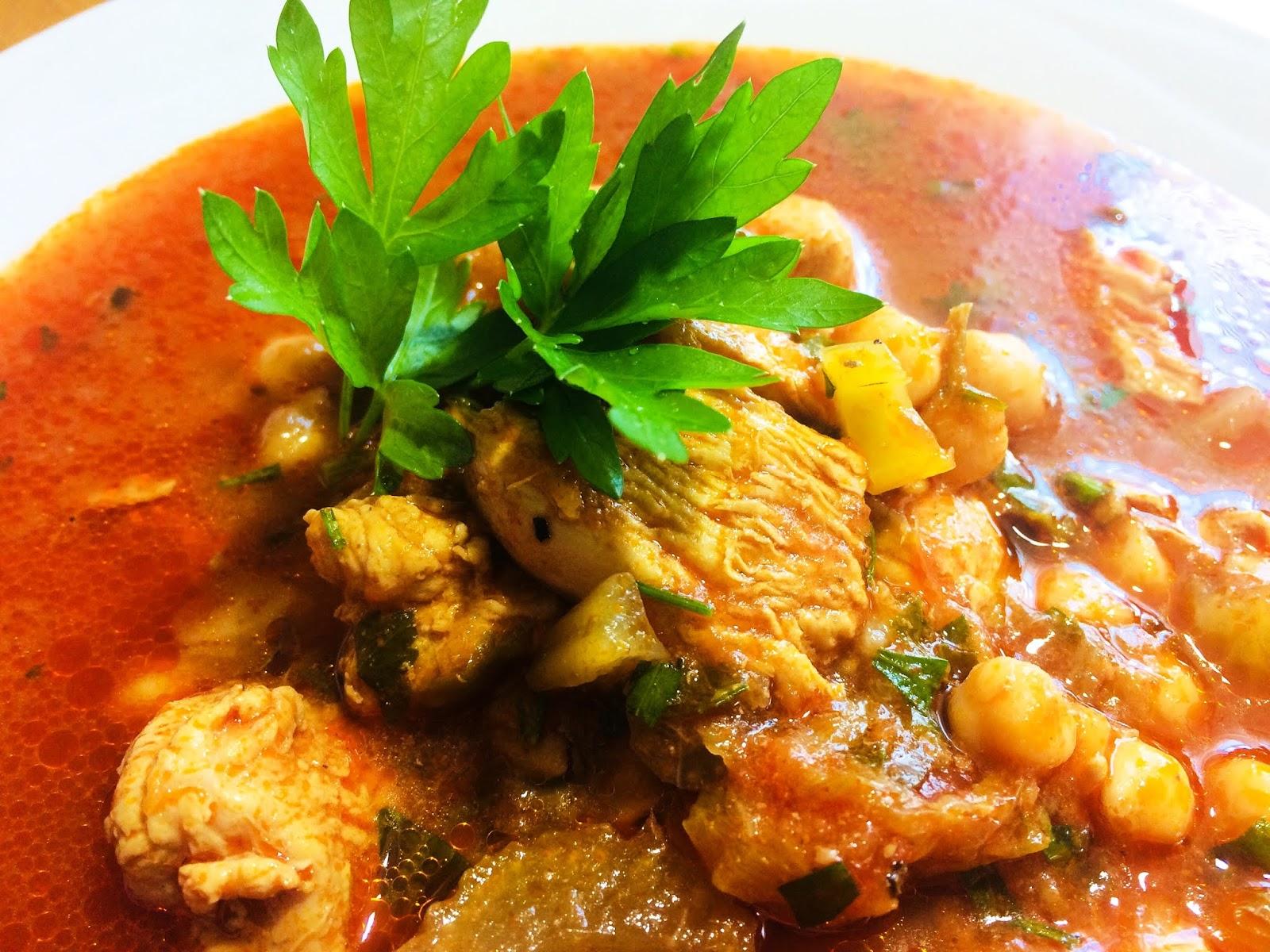 Supă marocană de năut