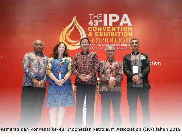Pameran dan Konvensi ke-43 Indonesian Petroleum Association (IPA) tahun 2019