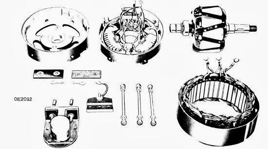 Repair Manuals Butec Alternators 1963 74 Models