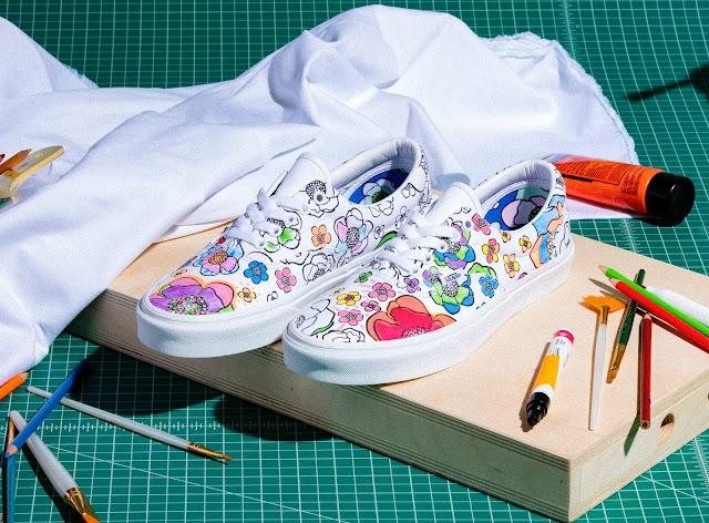 Vans DIY y U-Color para destacar la creatividad