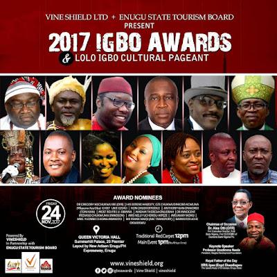 Innoson, Ibe, Ikoku, Others For Igbo Awards 2017