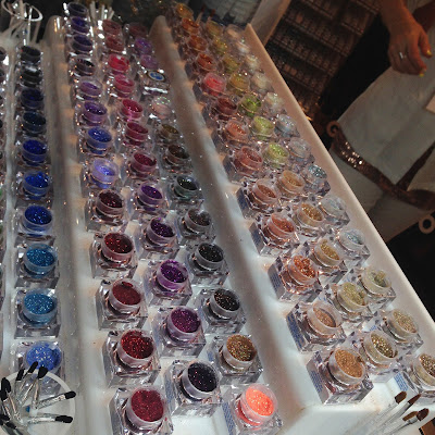 Lit Cosmetics glitters at The Makeup Show New York 2016 - www.modenmakeup.com