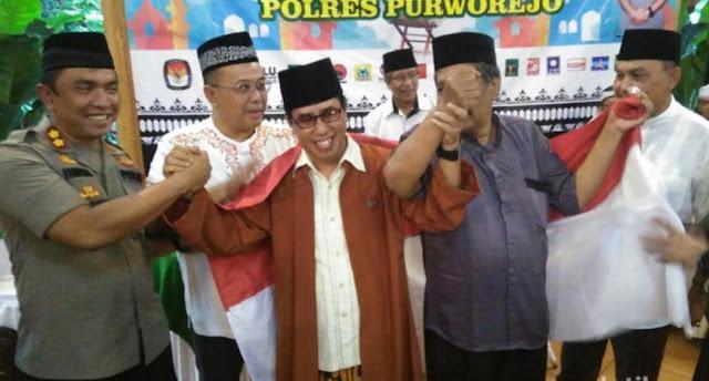 Ulama Hingga Timses 01 dan 02 di Purworejo Tolak People Power