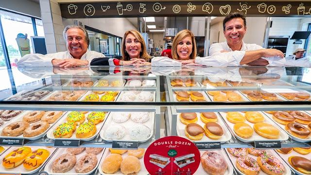 Donuts na Krispy Kreme em Miami
