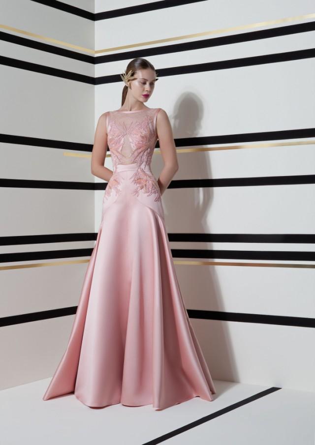 vestidos de damas 2016
